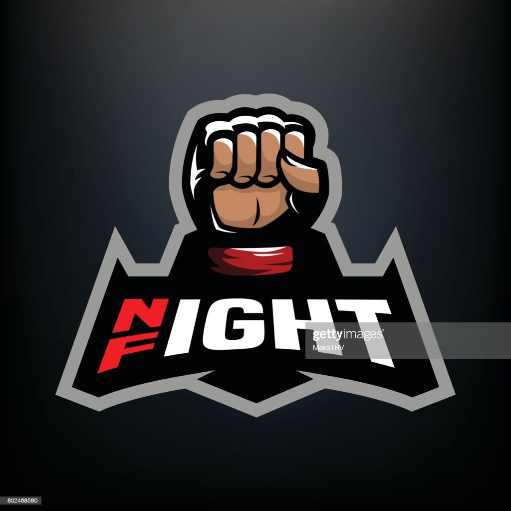 Night fight icon.