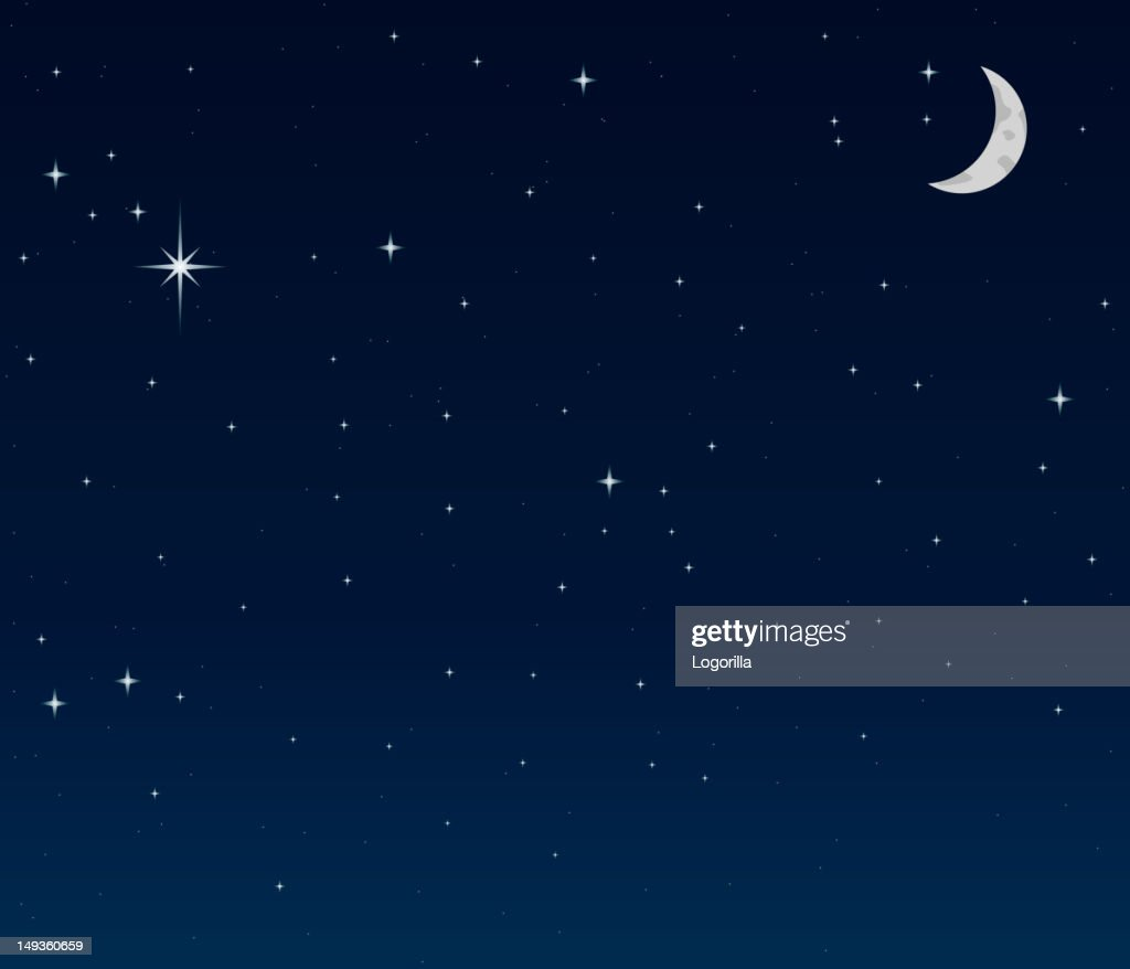 Night Sky background : stock illustration