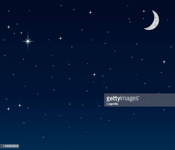 night sky background - night stock illustrations