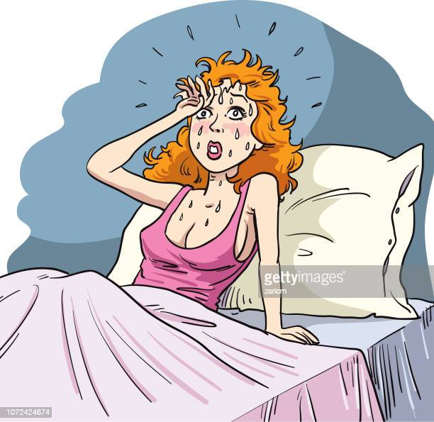 Night sweats.  Menopause symptoms