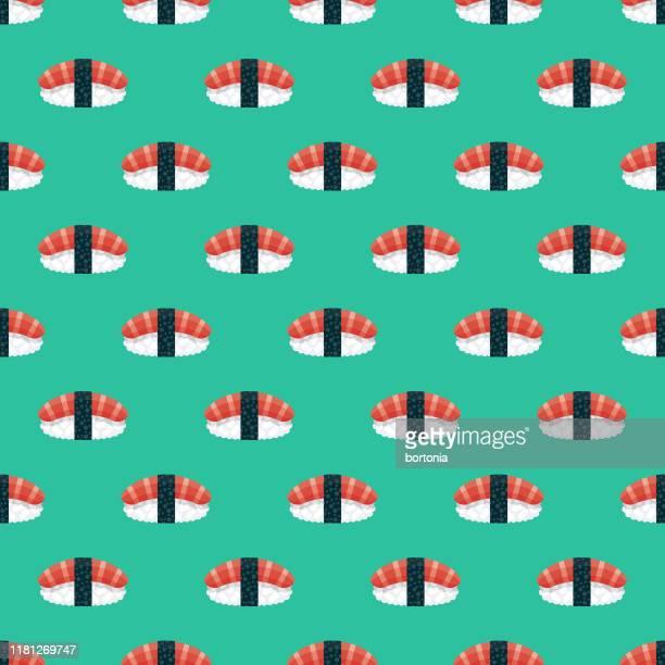 にぎり日本食模様 - 寿司点のイラスト素材/クリップアート素材/マンガ素材/アイコン素材