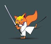 Ninja Fox Character and Concept Design