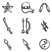 Ninja Icons Freehand