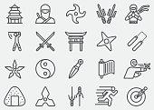 Ninja Line Icons