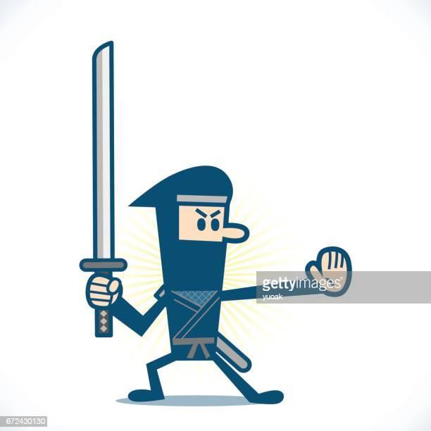Ninja with the sword