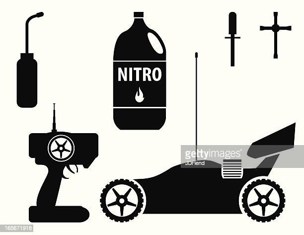 RC Nitro Buggy with Accessories