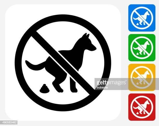 犬のご同伴にてグラフィックデザインアイコンフラット - stealth点のイラスト素材/クリップアート素材/マンガ素材/アイコン素材