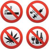no drug sign kit