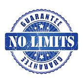 No Limits  Guarantee Stamp.