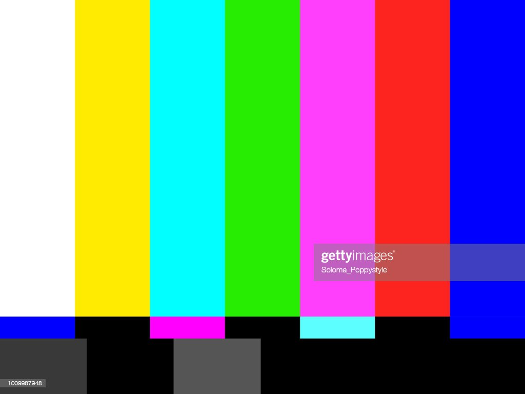 TV no signal background illustration. Vector illustration eps10 graphic