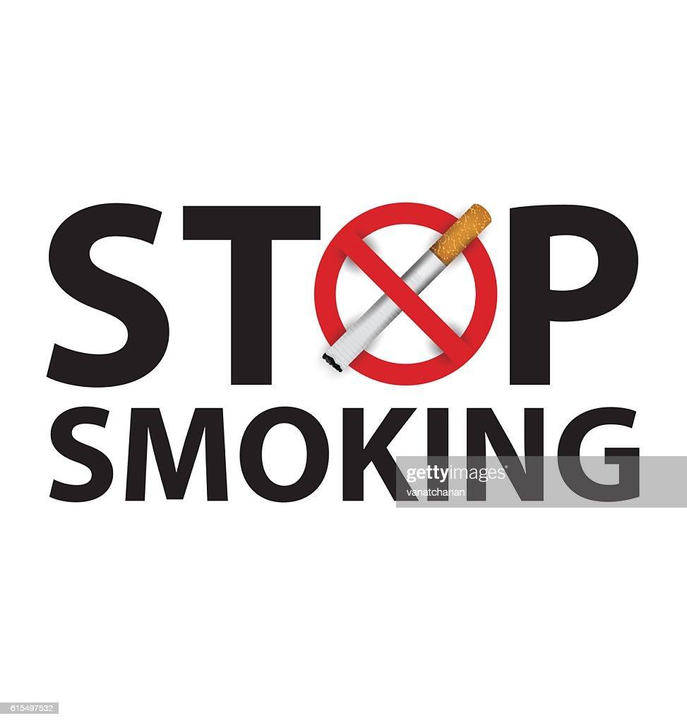 no smoking sign. vector illustration.