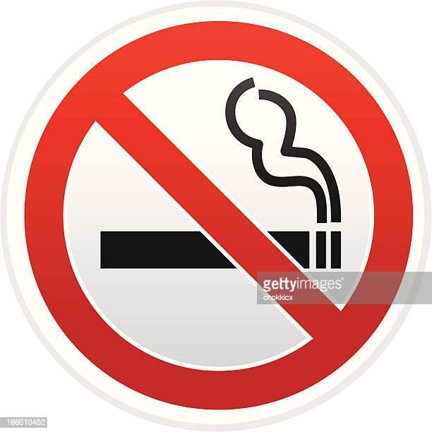 no smoking warning sign - no smoking sign stock illustrations