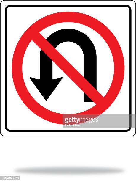 no u turn����������� getty images