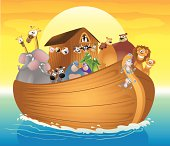 Noah's Ark Cartoon