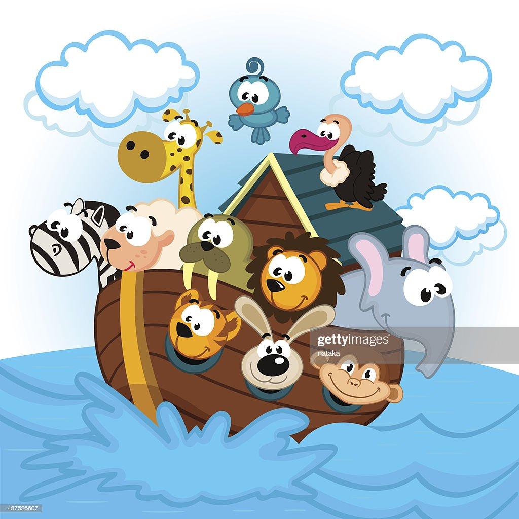 Noah's Ark with Animals