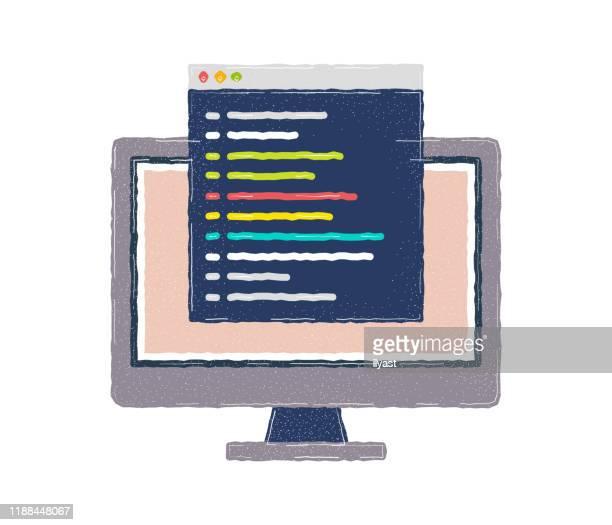 非営利フラット&ラインアイコンデザイン - html点のイラスト素材/クリップアート素材/マンガ素材/アイコン素材