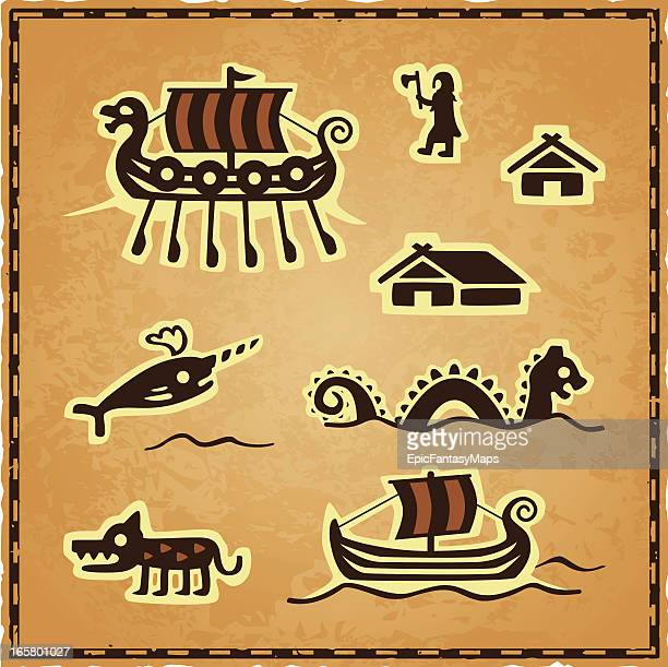 Norse Map Icons