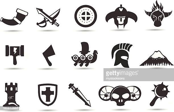 Norse Viking Icons
