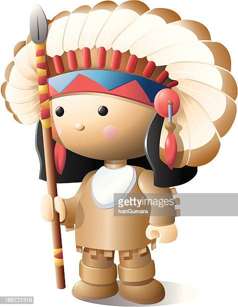 north american indian - cherokee culture stock illustrations, clip art, cartoons, & icons
