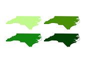 North Carolina maps