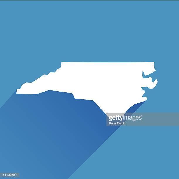 ノースカロライナ州 - ノースカロライナ州点のイラスト素材/クリップアート素材/マンガ素材/アイコン素材