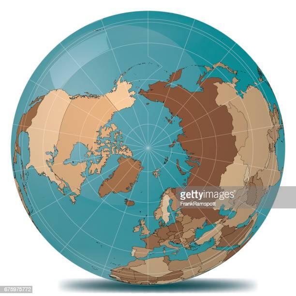 North Pole Planet Earth Countries