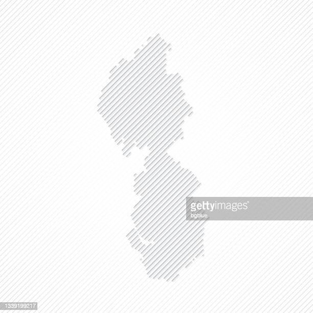 north west map designed with lines on white background - northwest england stock illustrations