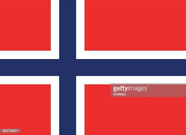 norway flag - all european flags stock illustrations
