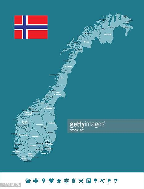 Norway Infographic Map