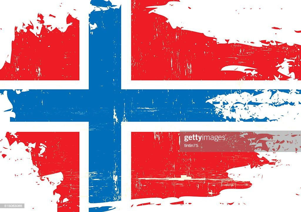 Norway scratched Flag