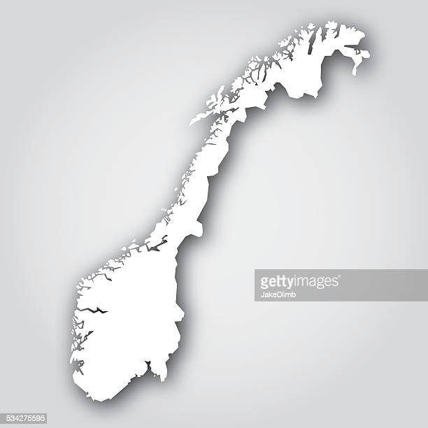 Norway Silhouette White