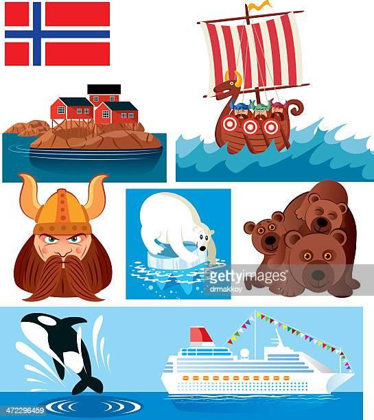 Norwegen Symbole