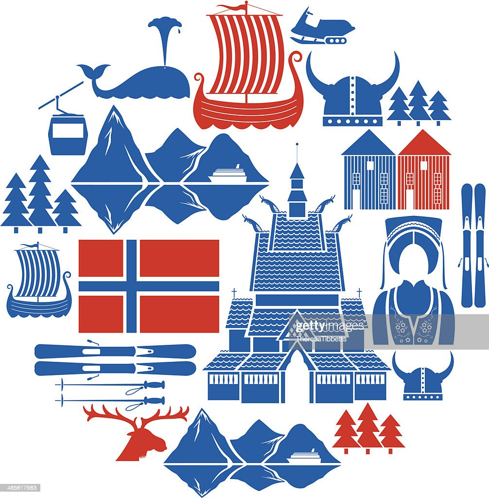 Norwegian Icon Set