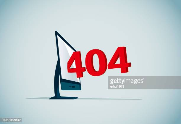 not found - error message - wrong way stock illustrations, clip art, cartoons, & icons