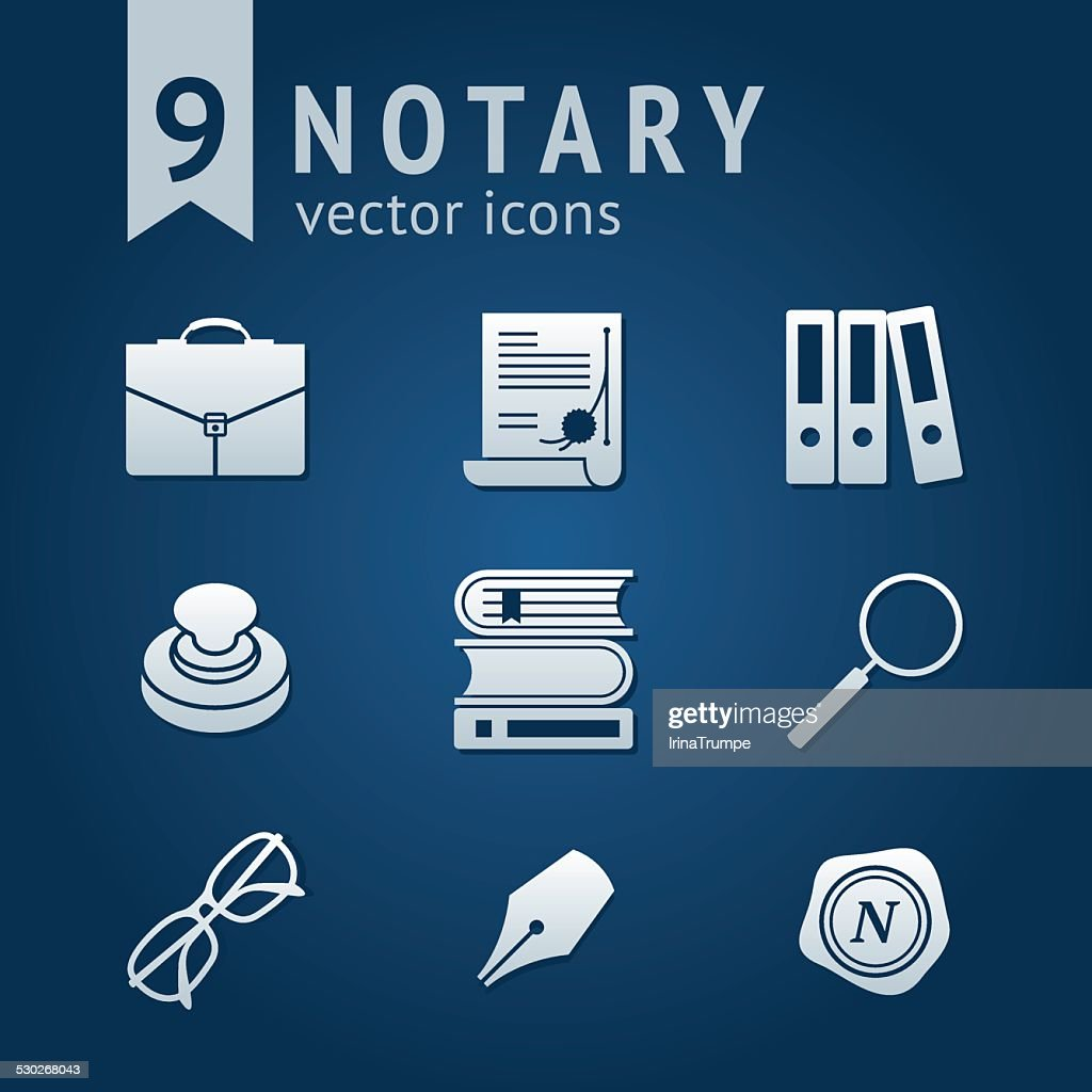 Notary icons