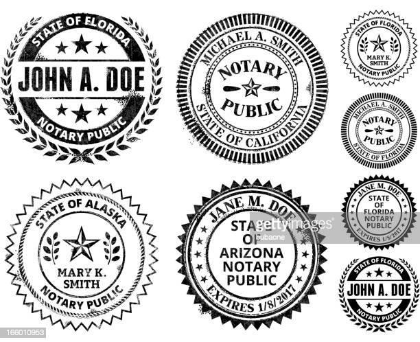 ilustrações, clipart, desenhos animados e ícones de tabelião colônia série: alabama a geórgia - great seal