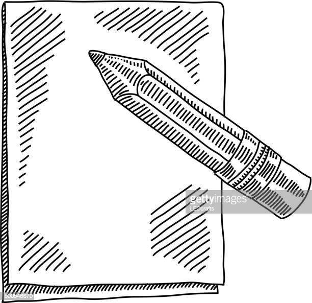 Note Pad Drawing