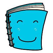 notebook cartoon