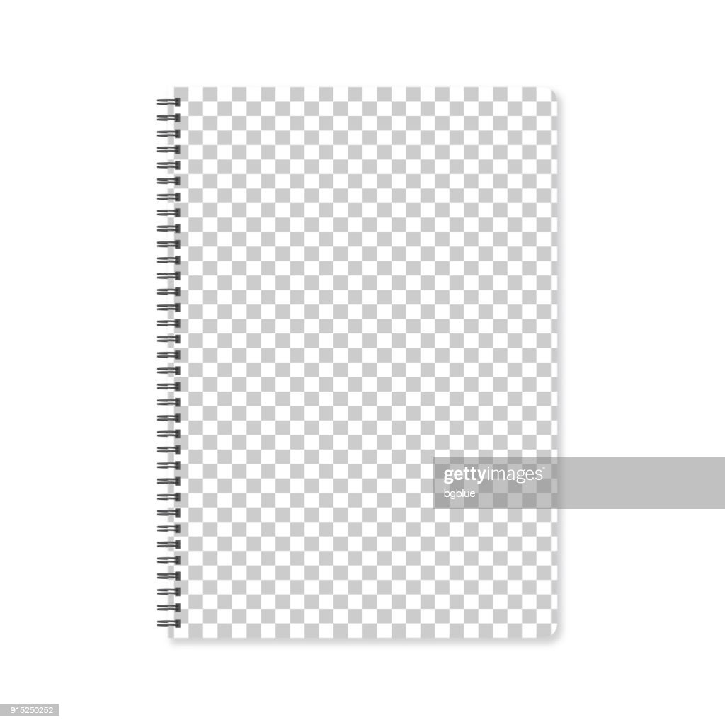 Notepad Template With Blank Background Vector Art | Getty Images
