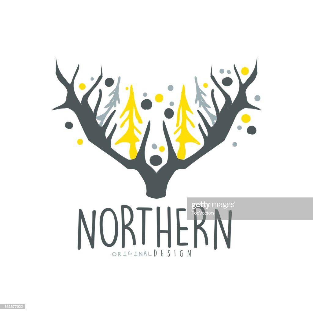 Nothern Logo Template Original Design Badge For Nothern Travel Sport