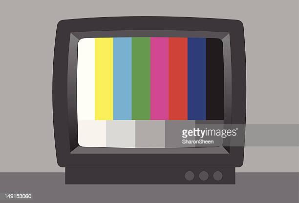 Nichts sehen Sie sich auf dem Fernseher