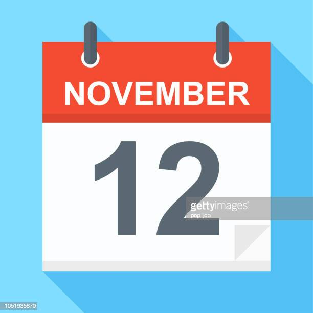 November 12 - Calendar Icon