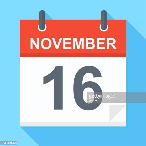 November 16 - Calendar Icon
