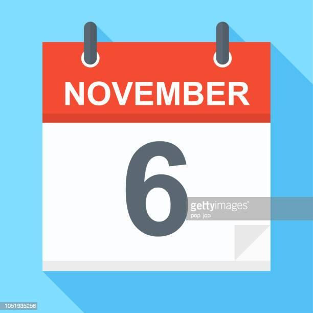 6. November: Kalendersymbol