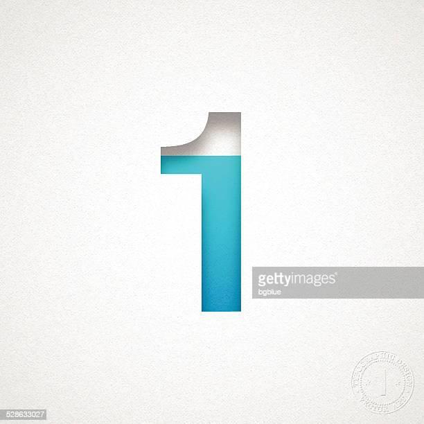 照会番号 1 設計ブルーの番号を水彩画紙
