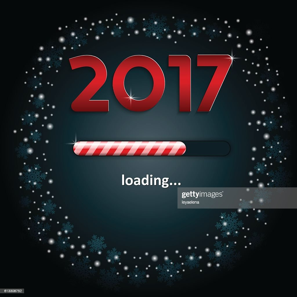 Numbers 2017 and a loading bar