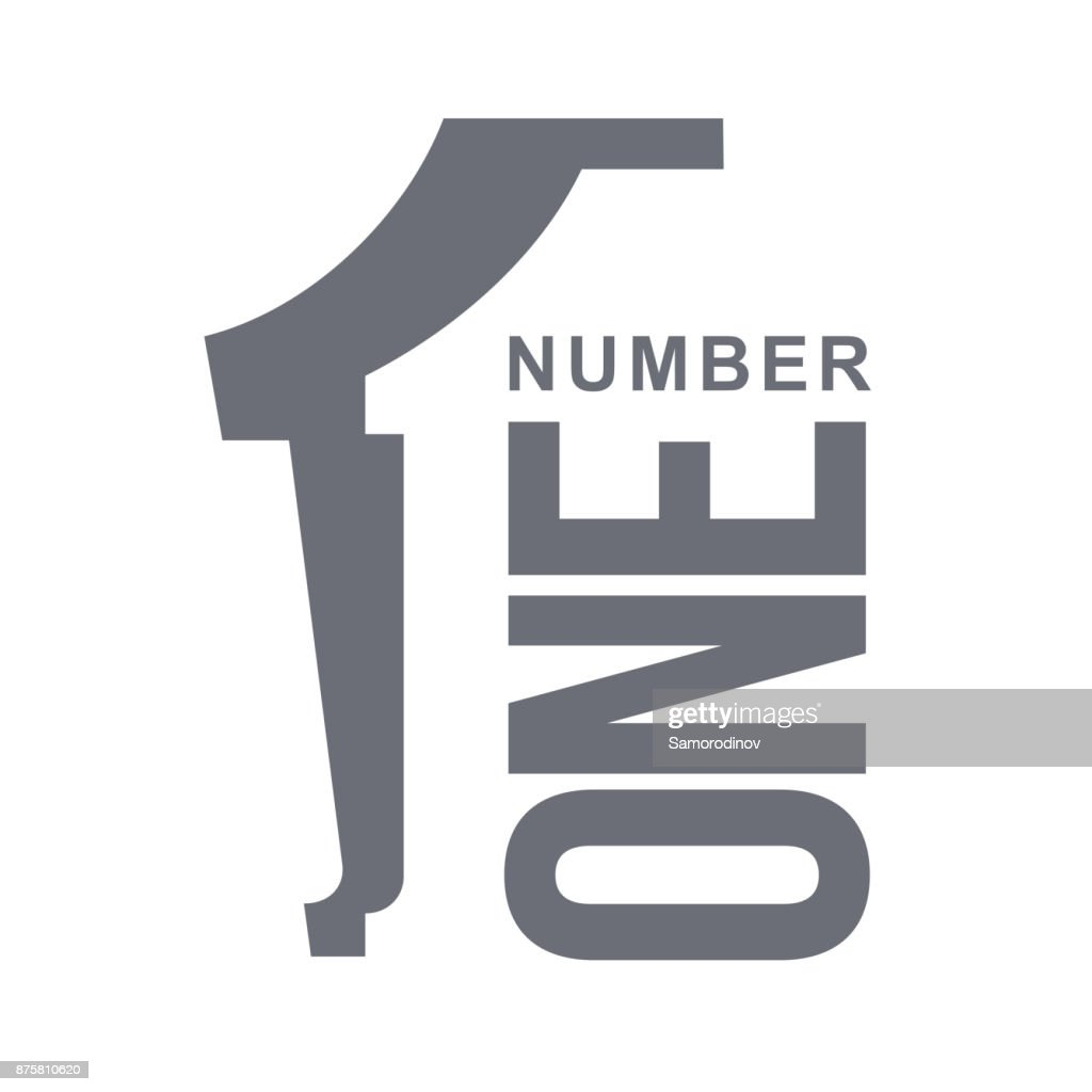 numeric icon one