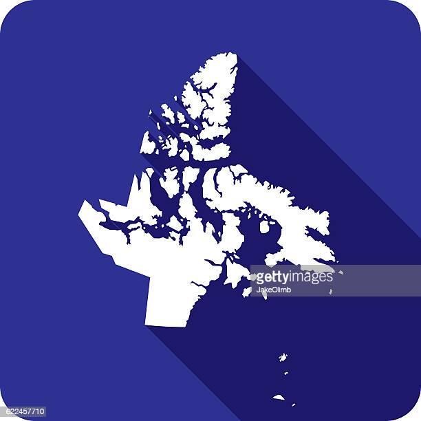 Nunavut Icon Silhouette