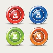 Nurse Colorful Vector Icon Design