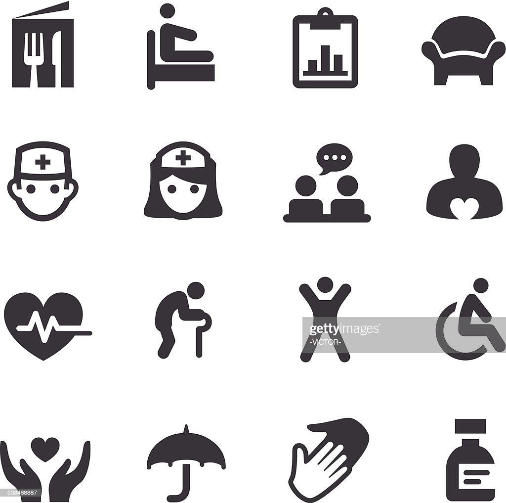 Nursing Home Icons - Acme Series